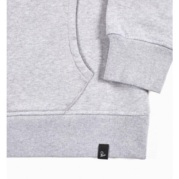 By Parra Quarter Zip Pullover Mountains of 1987 Ash Grey-01