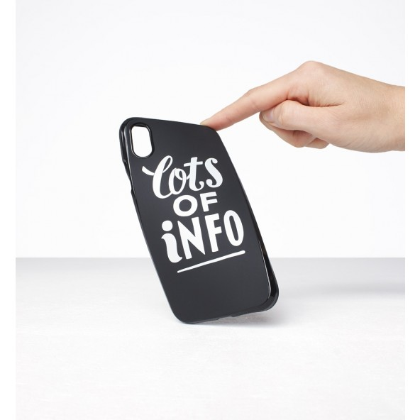 By Parra Iphone Case Lots of Info X Black-01