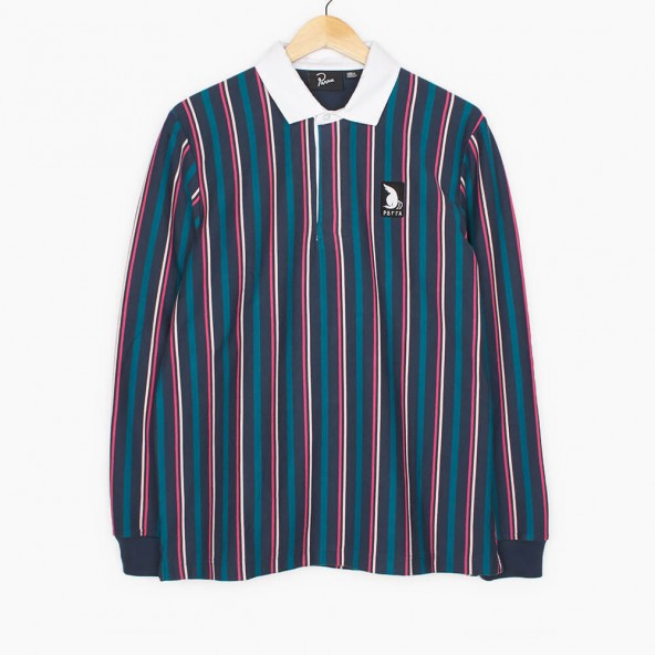 By Parra Racing Goose Rugby Shirt Multi-01