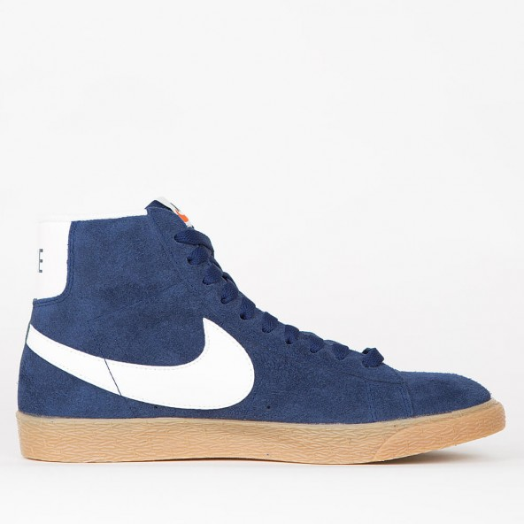 sneakers for cheap 2ea5a 493d7 ... reduced nike wmns blazer mid suede vintage binary blue ivory gum light  brown black u2022 stickabush