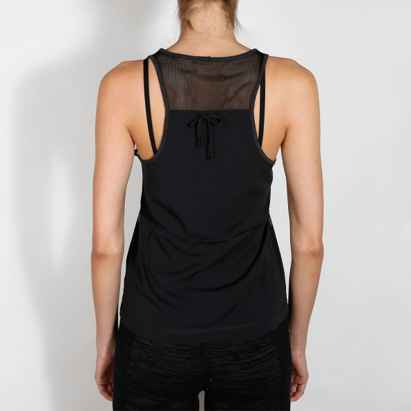 Nike Wmns Bonded Tank Black Heather-01