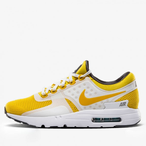 on sale 81217 13859 775a3 54ed4  official store nike air max zero qs white yellow u2022  stickabush be294 aa309