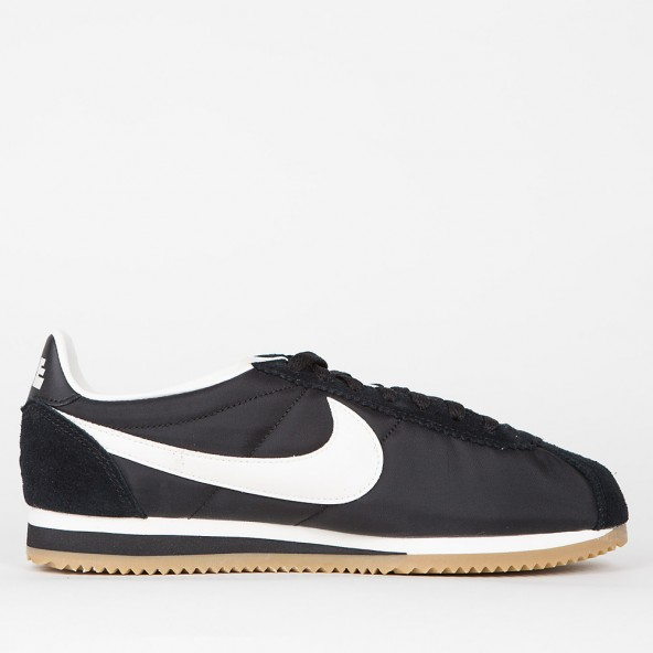 best service 7502e 2cf9d ... discount code for nike classic cortez nylon premium black sail gum  light brown 01 eee26 ae0f4