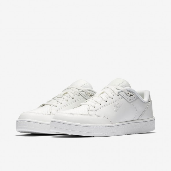 Nike Grandstand II Premium Summit White / Summit White White-01