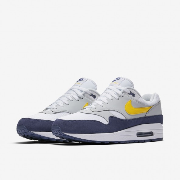 buy popular 6a3df 8e9a4 ... 50% off nike air max 1 white tour yellow blue recall 01 767bf 80059