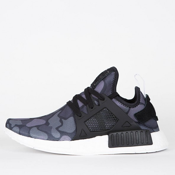 adidas NMD Xr1 PK Boost Triple Black Primeknit Ba7214 Authentic 10