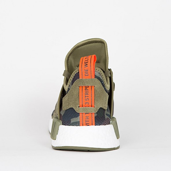 UA NMD XR1 Duck Camo Olive