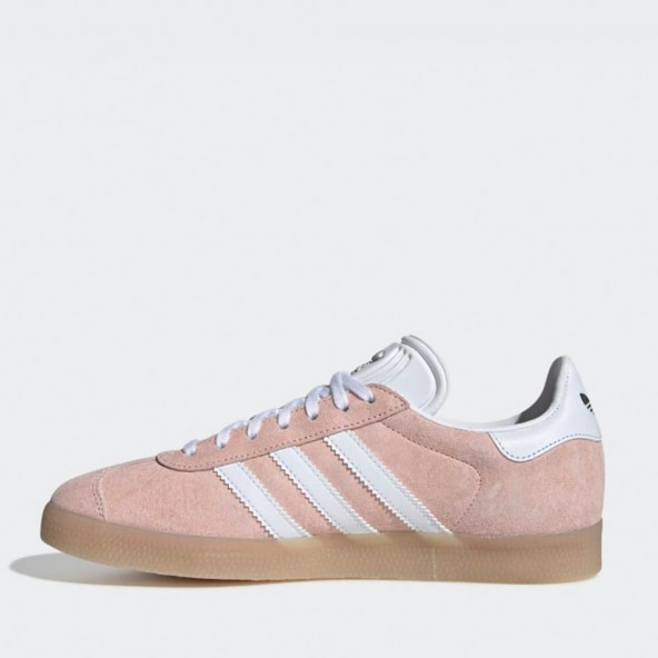 Adidas Gazelle W Clear Orange / Ftwr White / Ecru Tint-01