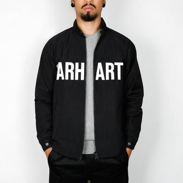 Carhartt WIP Shore Jacket Black / Black-01