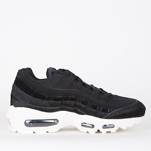 Nike Wmns Air Max 95 LX Black / Black Dark Grey Sail-01