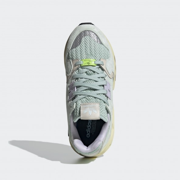 Adidas ZX Torsion W Green Tint / Dash Green / Purple Tint-01