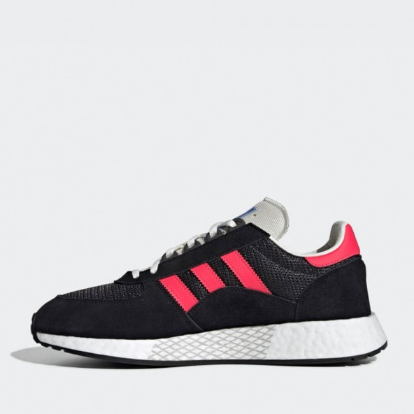 Adidas Marathon Tech Carbon / Shock Red / Core Black-01