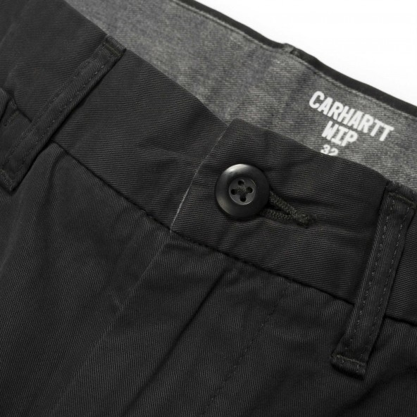 Carhartt WIP Johnson Short Black-01