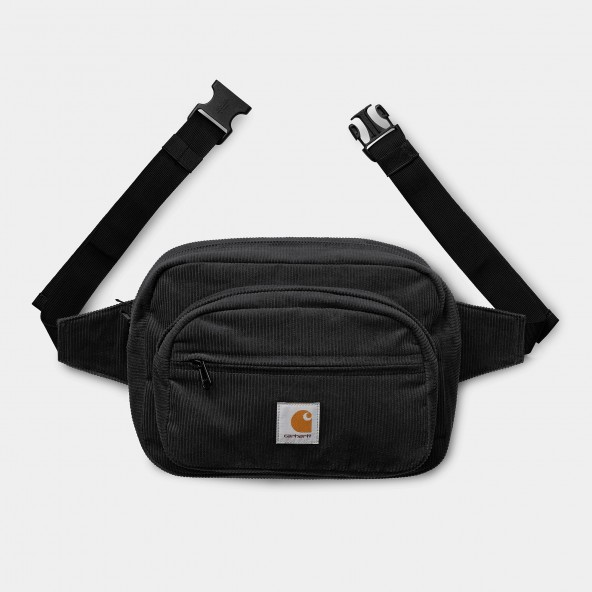 Carhartt WIP Cord Hip Bag Black-01