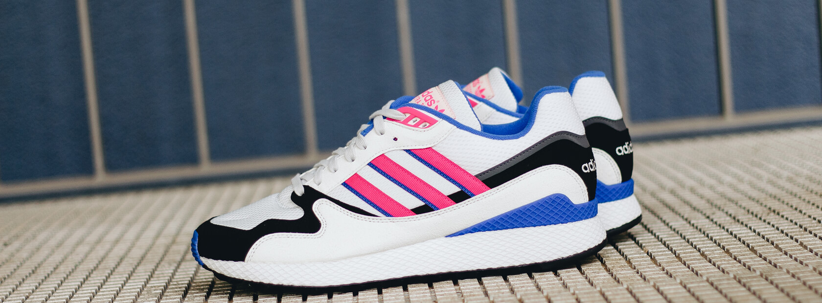 Adidas Ultra Tech - Crystal White / Shock Pink