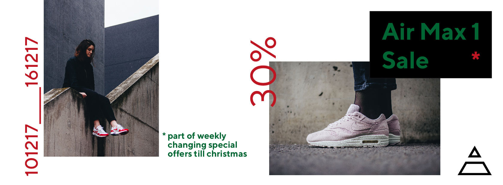 2. Advent Calendar Sales - 30% off all Air Max 1