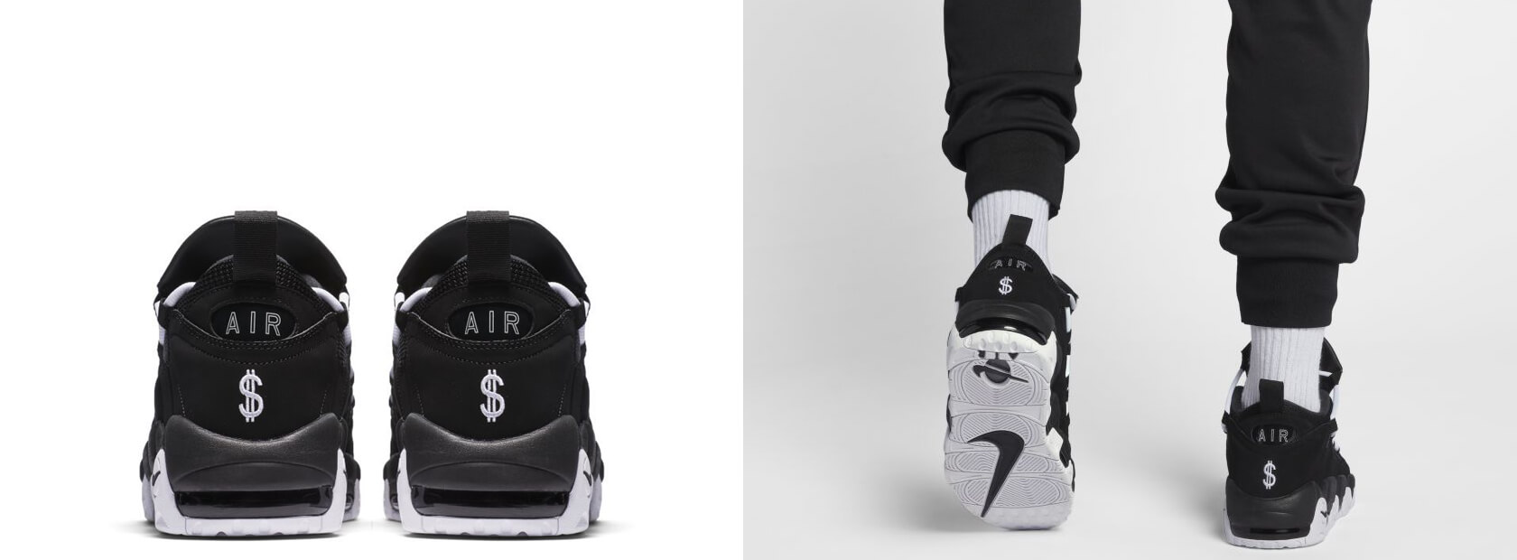 Nike Air More Money - Black / White