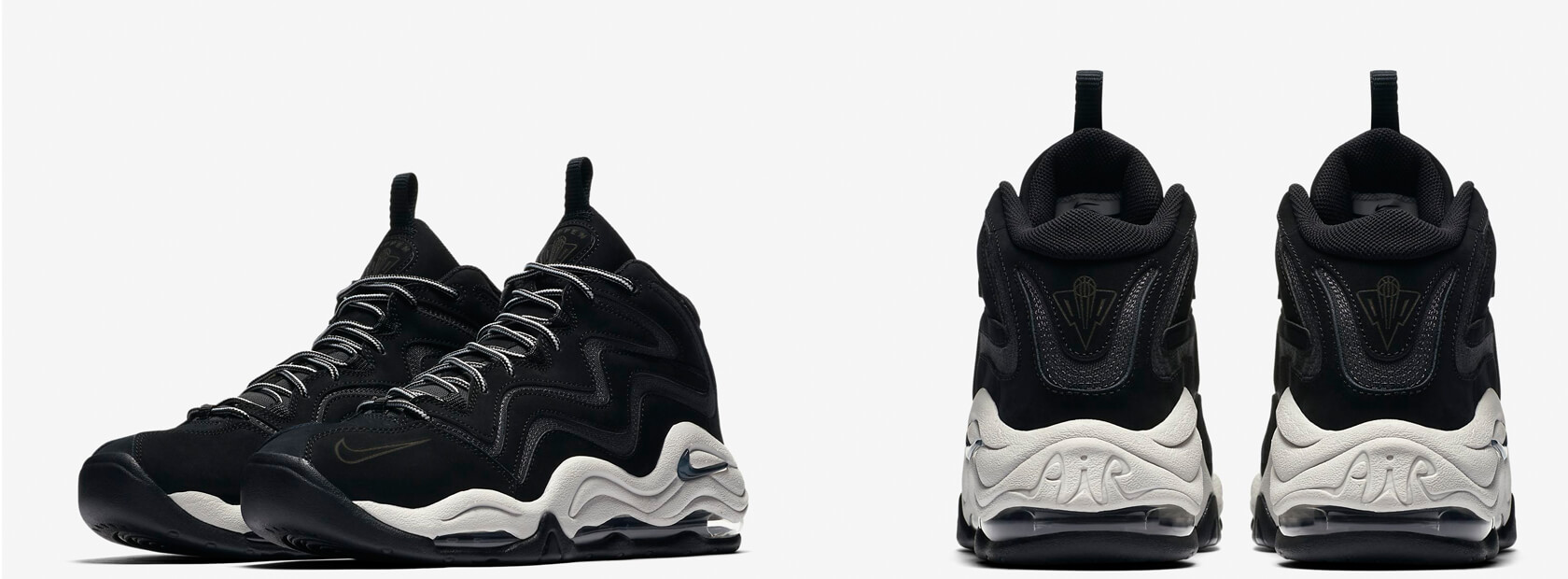 Nike Air Pippen - Black / Anthracite