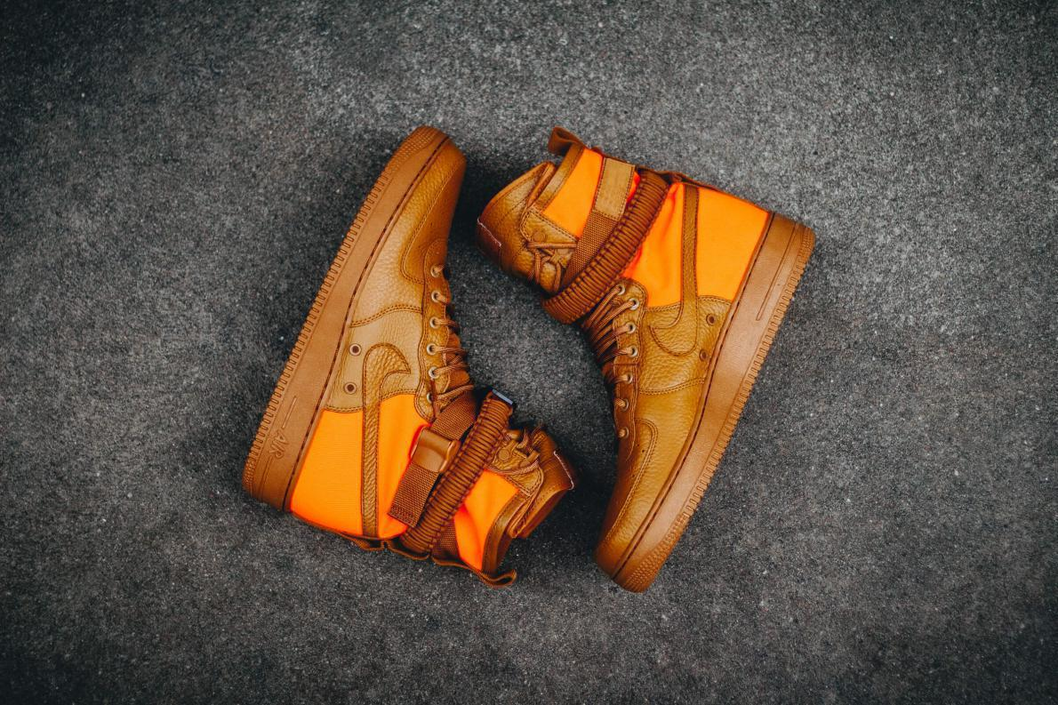 Nike SF Air Force 1 High 'Desert Ochre'