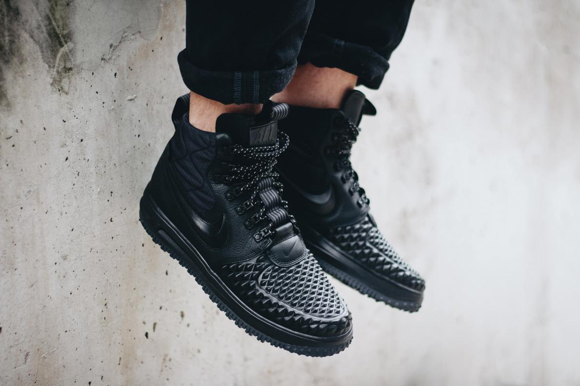 Nike Lunar Force 1 Duckboot '17 - Black / Black - Black