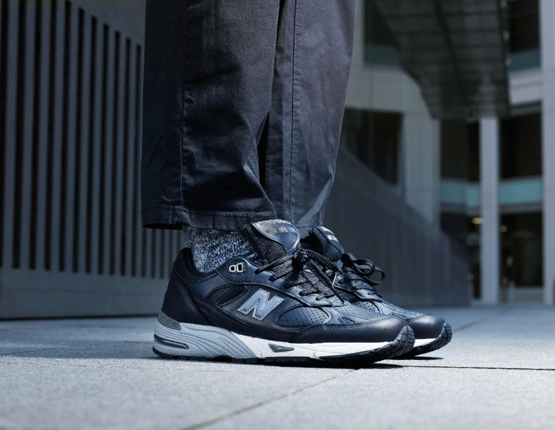 New Balance M991 - Navy / Grey