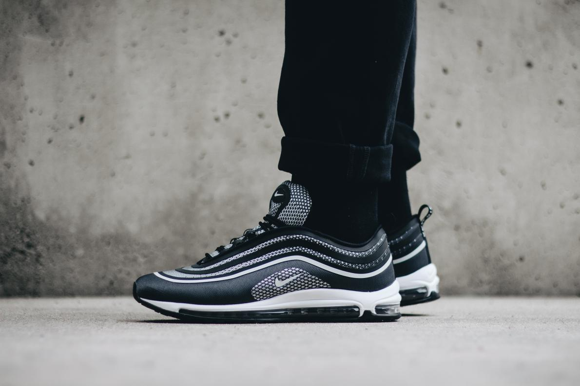 ... Black   Pure Platinum - Anthracite - White Nike Air Max 97 Ultra  17 Men`s  Shoes f748a789d