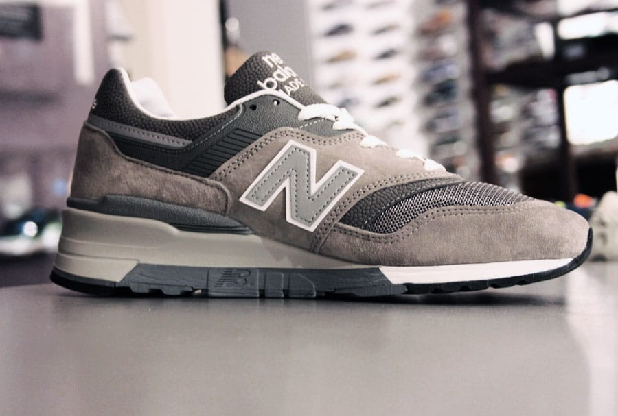 new products 9efab d82cb New Balance M 997 GY - Made in The USA - Spring 14 ...
